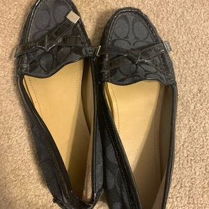Coach loafers/drivers/flats